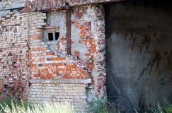 Ruines dans le Baltiysk Image libre de droits
