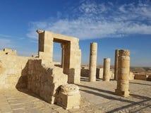 Ruines dans le désert Photo stock