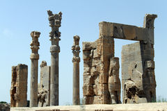 Ruines dans Persepolis images libres de droits