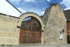 Ruines dans Ustek Photos libres de droits