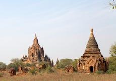Ruines de Bagan, Myanmar Photo libre de droits