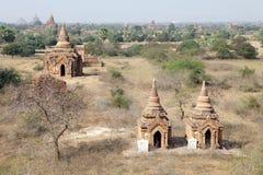 Ruines de Bagan, Myanmar Images libres de droits