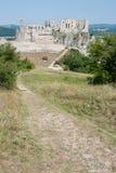 Ruines de Beckov Photos libres de droits