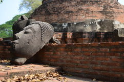 Ruines de Bouddha Photographie stock