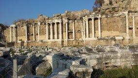Ruines de Byzantin Images stock
