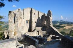 Ruines de Canossa Photographie stock