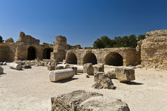Ruines de Carthage Image libre de droits