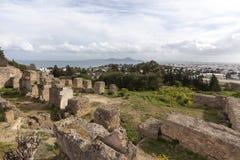 Ruines de Carthage Photos stock