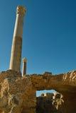 Ruines de Carthage, Tunisie Images libres de droits