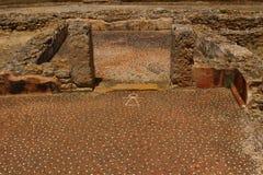 Ruines de Carthaginois dans la fève de chapeau, Tunisie photos libres de droits