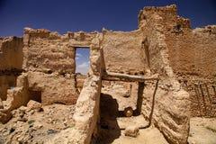 Ruines de casbah médiéval, Maroc photographie stock