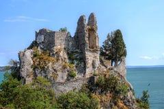 ruines de château Image libre de droits
