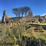 ruines de château Image stock