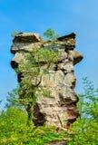 Ruines de château d'Anebos au Palatinat Forest Germany photographie stock