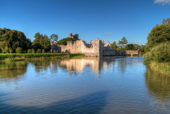 Ruines de château dans Adare Image libre de droits