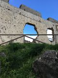Ruines de château de Casares Photos libres de droits