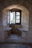 Ruines de château de Kolossi Photographie stock libre de droits
