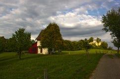 Ruines de château de Neu-Schauenburg, Frenkendorf Photos stock