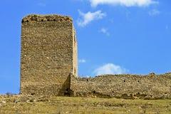 Ruines de château de Torockoszentgyorgy, Roumanie Image libre de droits