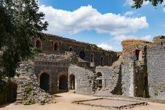 Ruines de château impérial à Duesseldorf images stock