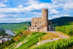 Ruines de château de Landshut, Bernkastel Kues photos libres de droits