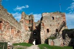 Ruines de château médiéval Images libres de droits