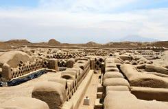 Ruines de Chan Chan image libre de droits