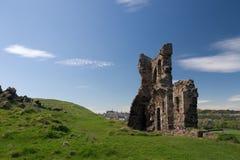 Ruines de chapelle de rue Anthony, Edimbourg Image libre de droits