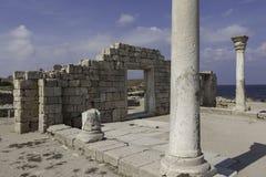 Ruines de Chersonese. La Crimée. Ukraine Photographie stock libre de droits