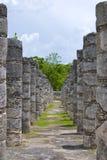 Ruines de Chichen Itza Photos stock