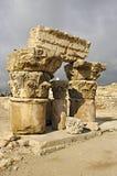 Ruines de citadelle à Amman en Jordanie. Photographie stock libre de droits