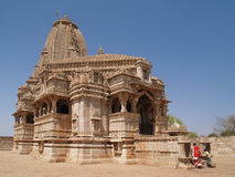 Ruines de citadelle de Chittorgarh au Ràjasthàn, Inde Photo libre de droits