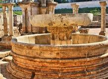 Ruines de cloître de Santa Clara Velha à Coimbra Image libre de droits