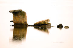 Ruines de construction Images stock