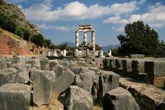 Ruines de Delphes Photos libres de droits