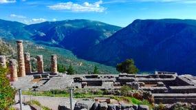Ruines de Delphes Images stock