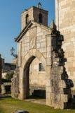 Ruines de DOS Condes de Paco dans Barcelos images stock