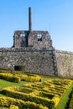 Ruines de DOS Condes de Paco dans Barcelos images libres de droits