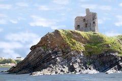 ruines de falaise de château Photographie stock