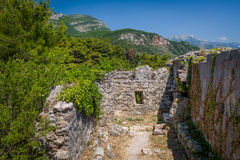 Ruines de fort de Ratac Image libre de droits