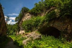 Ruines de fort de Tarakanivskiy, région de Rivne, Ukraine Images stock