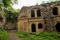 Ruines de fort de Tarakanivskiy, région de Rivne, Ukraine Photo libre de droits