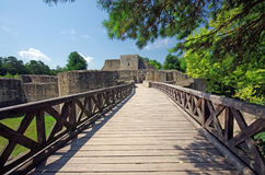 Ruines de forteresse images stock