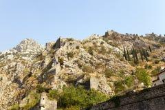 Ruines de forteresse Photos stock
