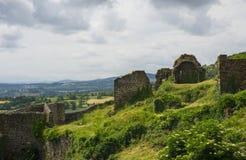 Ruines de forteresse de Polignac Photographie stock
