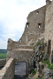Ruines de forteresse de Rupea Photo stock