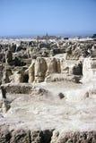 ruines de gaochang de porcelaine Photo stock