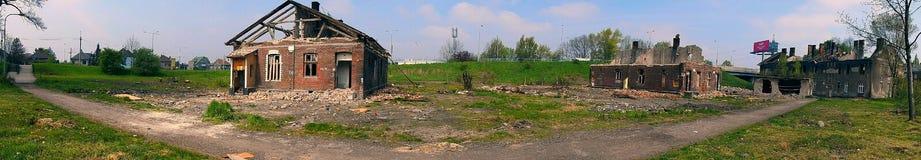 Ruines de ghetto Photos libres de droits