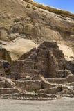 Ruines de gorge de Chaco photo libre de droits