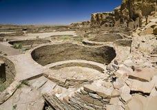 Ruines de gorge de Chaco Images libres de droits